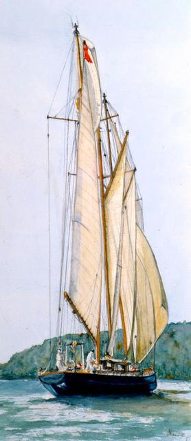 Marine Artist in Scotland and UK